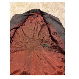 Calvin Klein Dresses - Calvin Klein Brown Fitted Stretch Midi Skirt Suit